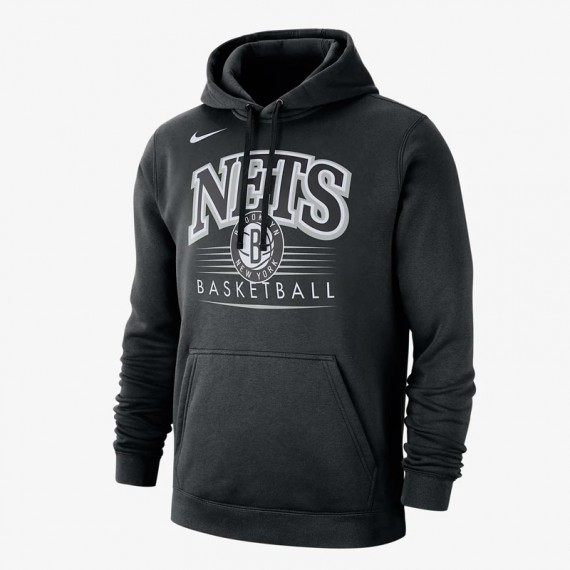 BROOKLYN NETS HOODY CREST