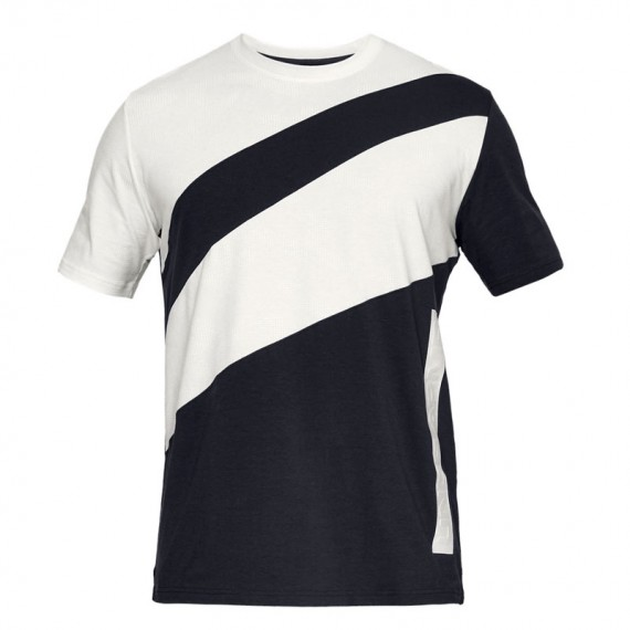 PURSUIT COURT TEE BLACK WHITE