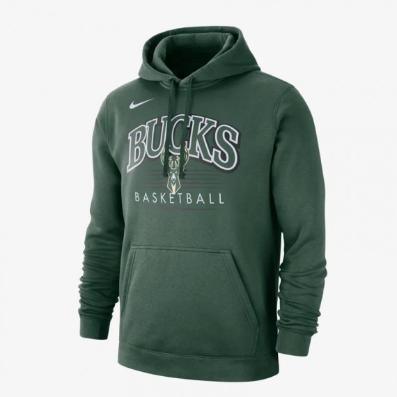 MILWAUKEE BUCKS HOODY CREST