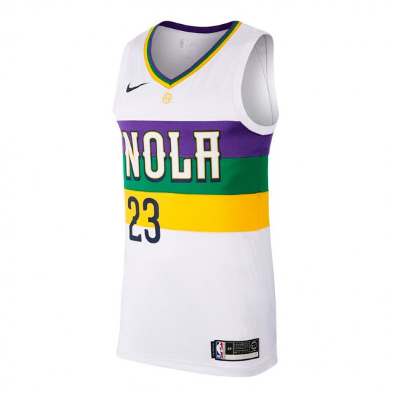 ANTHONY DAVIS EARNED EDITION SWINGMAN JERSEY NEW ORLEANS PELICANS