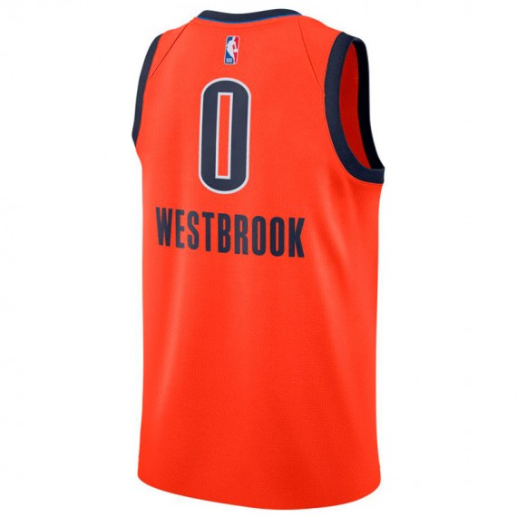 RUSSELL WESTBROOK EARNED EDITION SWINGMAN JERSEY OKLAHOMA CITY THUNDER