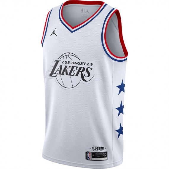 LEBRON JAMES ALL-STAR EDITION SWINGMAN WHITE (JUNIOR)