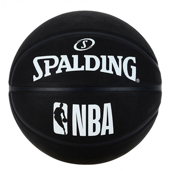 SPALDING NBA BLACK (Talla 7)