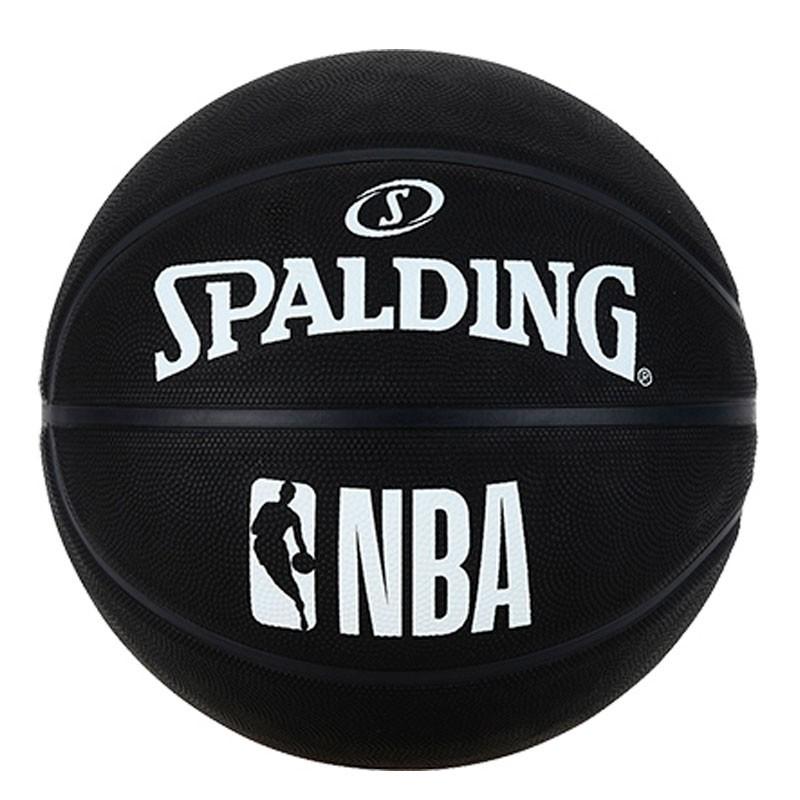 SPALDING NBA BLACK (Talla 7)