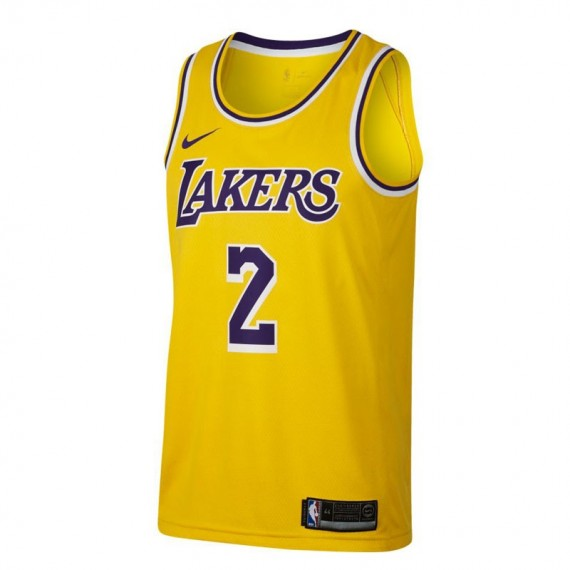 LONZO BALL ICON EDITION SWINGMAN JERSEY LOS ANGELES LAKERS (JUNIOR)