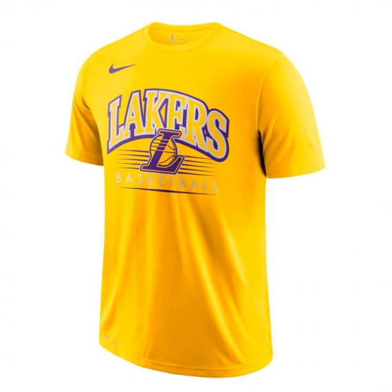 LOS ANGELES LAKERS DRY TEE ES CREST