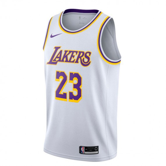 LEBRON JAMES ASSOCIATION EDITION SWINGMAN JERSEY LOS ANGELES LAKERS