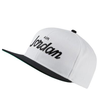 JORDAN PRO SCRIPT CAP WHITE