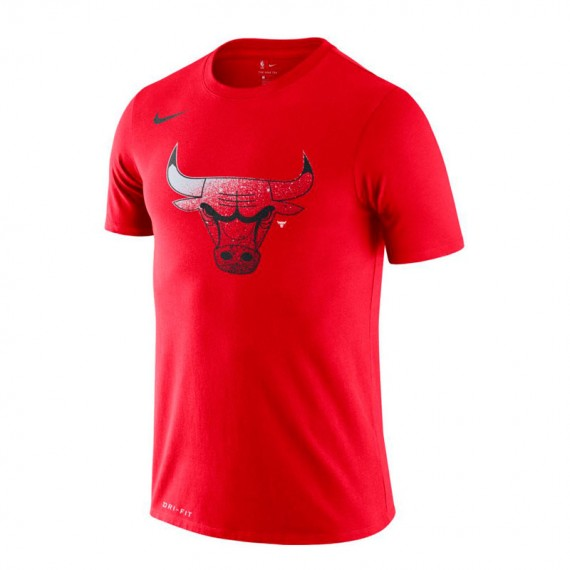 CHICAGO BULLS TEE BIG LOGO RED