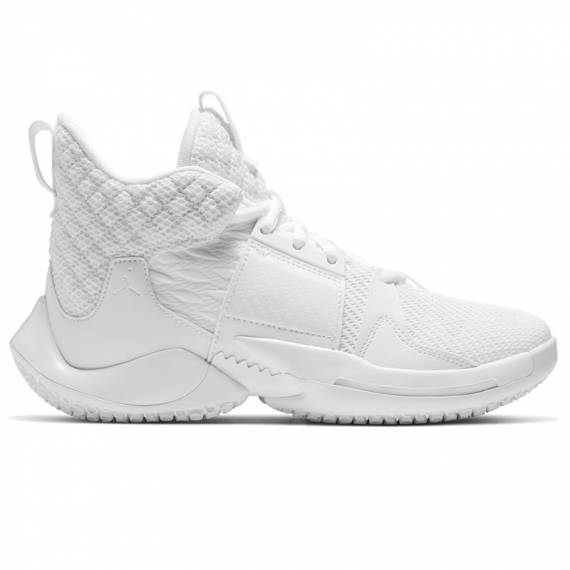 JORDAN WHY NOT ZER0.2 TRIPLE WHITE (JUNIOR)