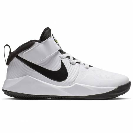 374dc716b79b0 Zapatillas baloncesto niños Nike Team Hustle D9 White | Basket World