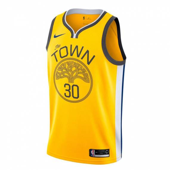 STEPHEN CURRY EARNED EDITION SWINGMAN JERSEY GOLDEN STATE WARRIORS (JUNIOR)