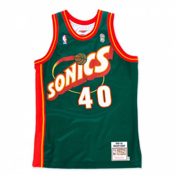 SHAWN KEMP SEATTLE SUPERSONICS HARDWOOD CLASSIC 95 -96