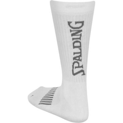 SPALDING COLOURED SOCKS WHITE