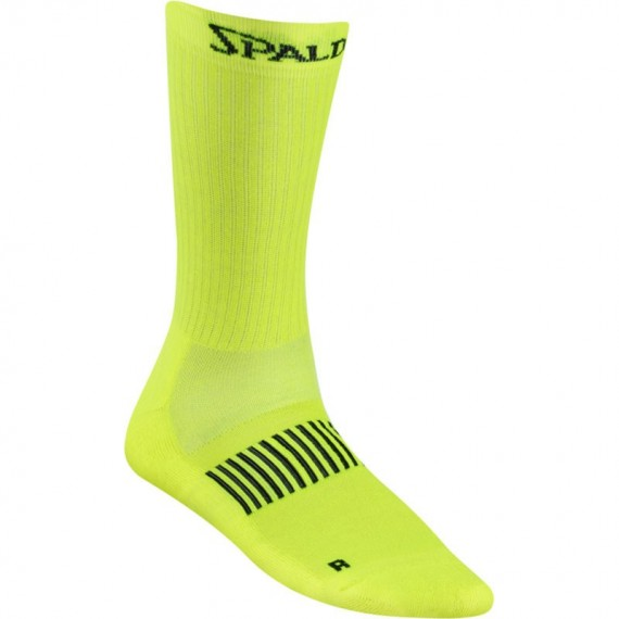 SPALDING COLOURED SOCKS YELLOW
