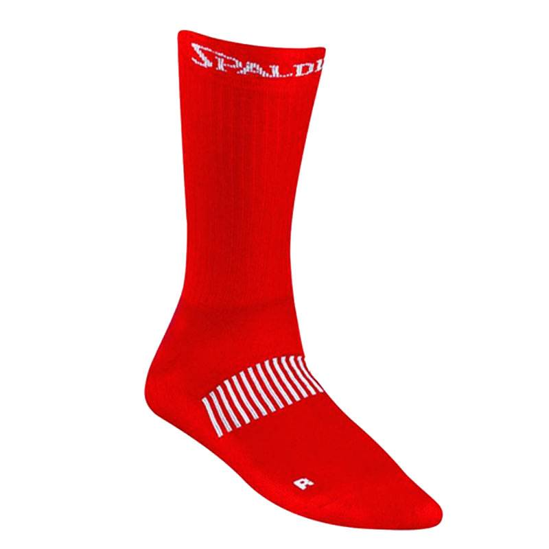 SPALDING COLOURED SOCKS RED