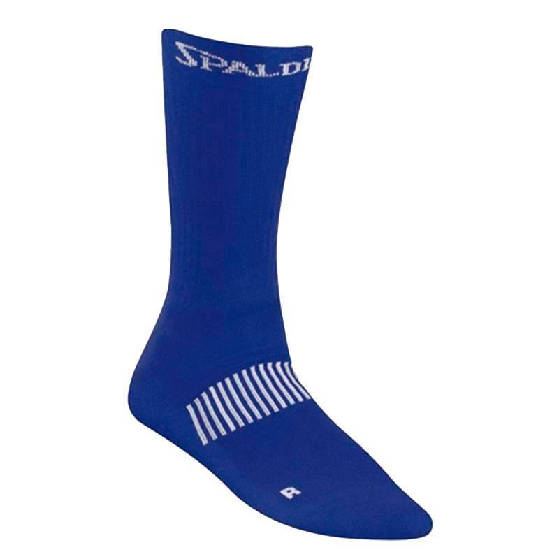 SPALDING COLOURED SOCKS BLUE
