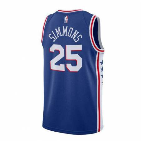 BEN SIMMONS ICON EDITION SIXERS SWINGMAN JERSEY (JUNIOR)