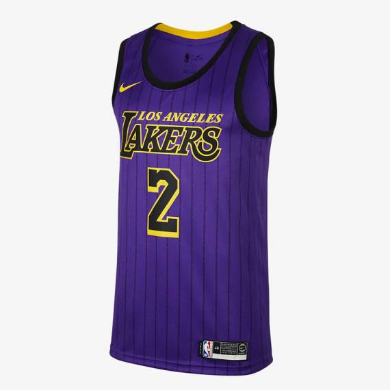 LONZO BALL CITY EDITION SWINGMAN JERSEY LOS ANGELES LAKERS (JUNIOR)