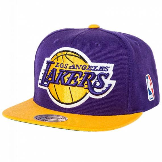 TEAM LOGO 2 TONE SNAPBACK LAKERS