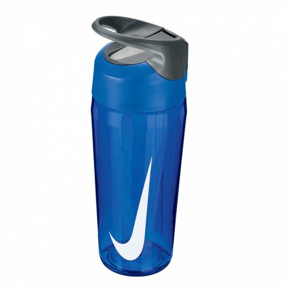 NIKE HYPERCHARGE STRAW BOTTLE 453ML BLUE