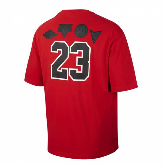 JORDAN TEE FIRST FOUR RED