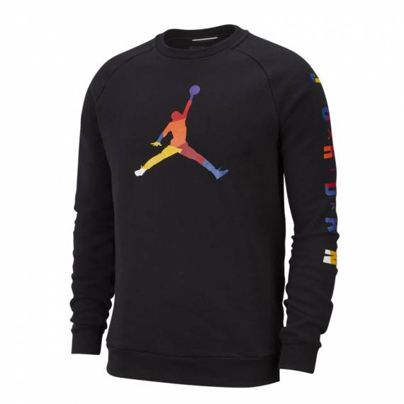 JORDAN FLEECE DNA HOODIE BLACK