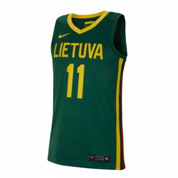 DOMANTAS SABONIS LITHUANIA NATIONAL TEAM JERSEY