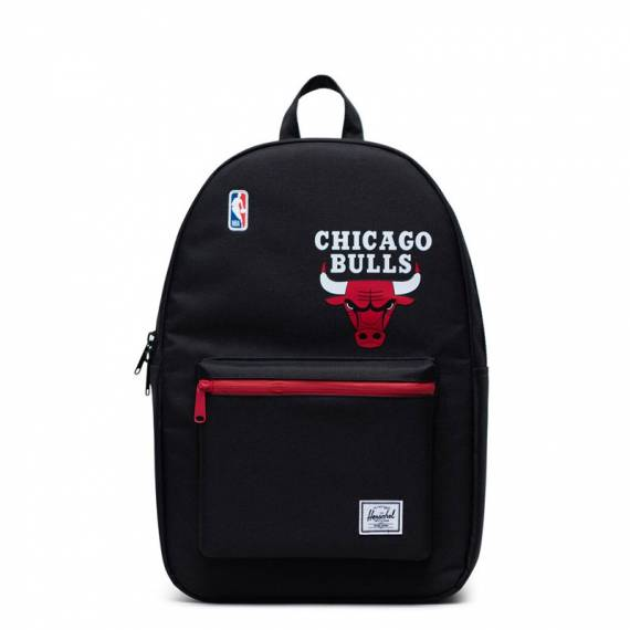 HERSCHEL NBA SUPERFAN COLLECTION CHICAGO BULLS BLACK