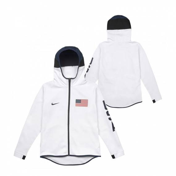 SUDADERA TEAM USA SHOWTIME HOODIE FZ