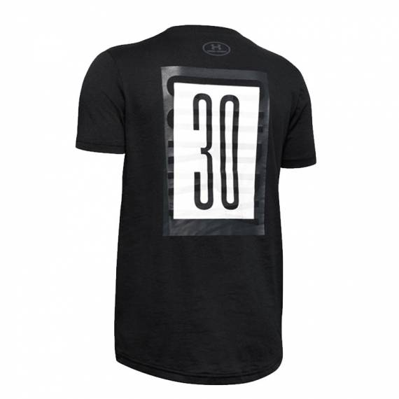 SC30 CURRY BRANDED TEE BLACK