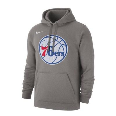 PHILADELPHIA 76ERS NBA HOODIE GREY