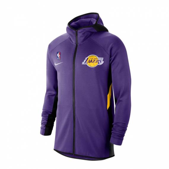 LOS ANGELES LAKERS THERMAFLEX SHOWTIME HOODIE PURPLE