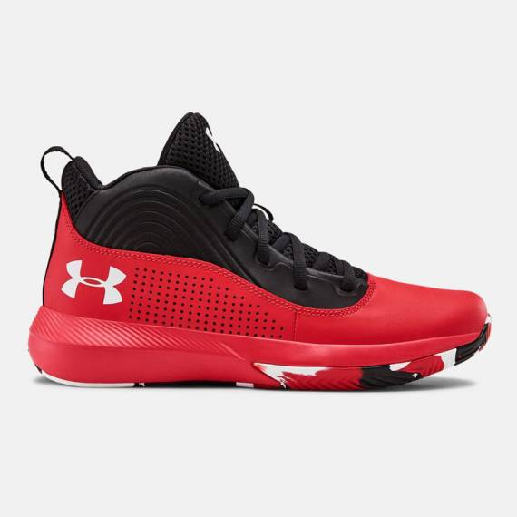 UA LOCKDOWN 4 (JUNIOR) RED
