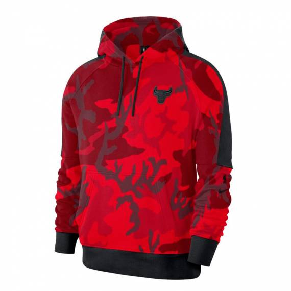 CHICAGO BULLS AOP COURTSIDE HOODIE