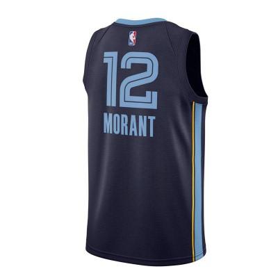 JA MORANT MEMPHIS GRIZZLIES NBA SWINGMAN JERSEY 2019 ICON ED