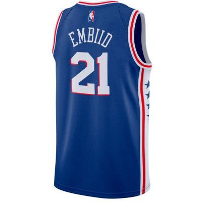 JOEL EMBIID PHILADELPHIA SIXERS NBA SWINGMAN JERSEY 2019 ICON ED