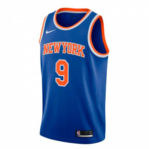RJ BARRETT NEW YORK KNICKS ICON EDITION SWINGMAN JERSEY 2019