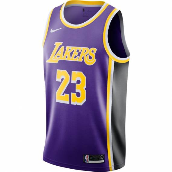 LEBRON JAMES LOS ANGELES LAKERS STATEMENT EDTION SWINGMAN JERSEY