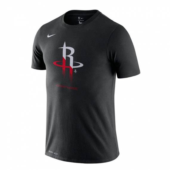 HOUSTON ROCKETS LOGO TEE BLACK