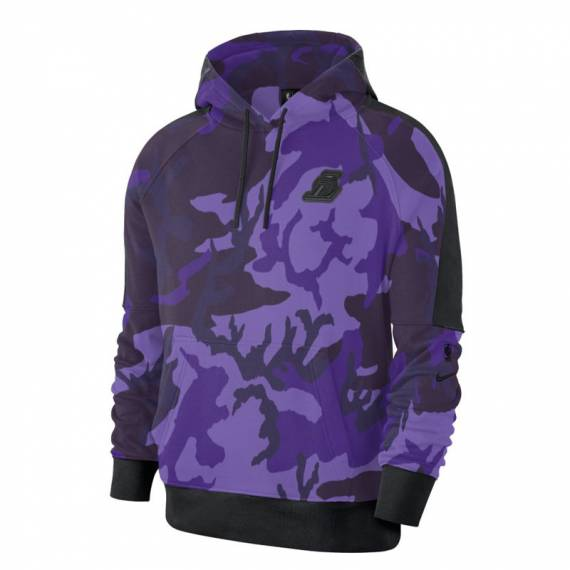 LOS ANGELES LAKERS COURTSIDE AOP HOODIE
