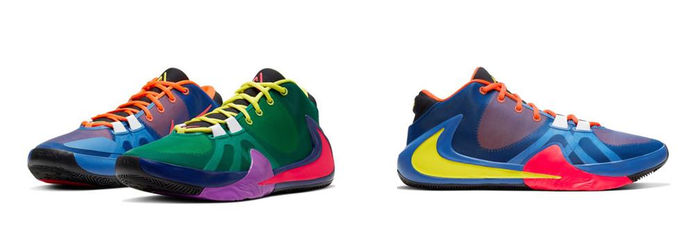 Las zapatillas de los jugadores de la NBA_zoom freak