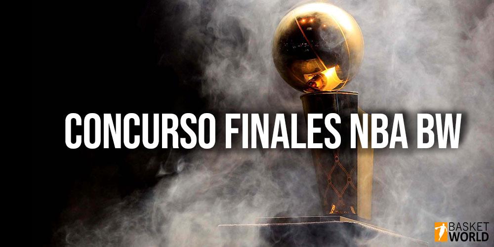 Concurso finales NBA BW