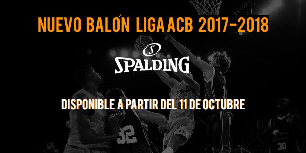 Balón oficial liga ACB 17-18 1
