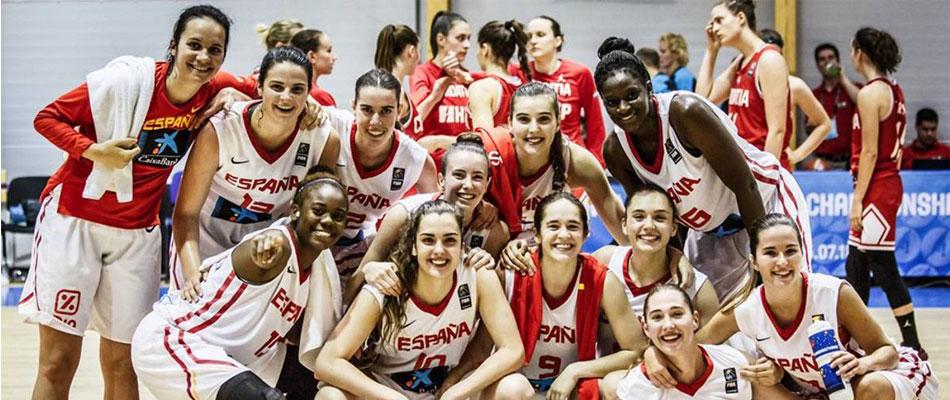 España campeona del europeo sub 20 femenino 1