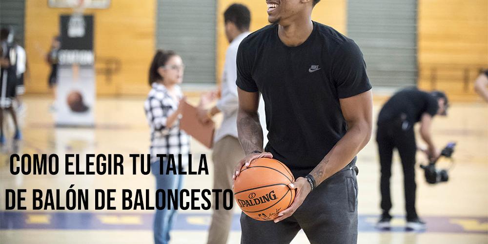 Cómo elegir la talla del balón de baloncesto 1