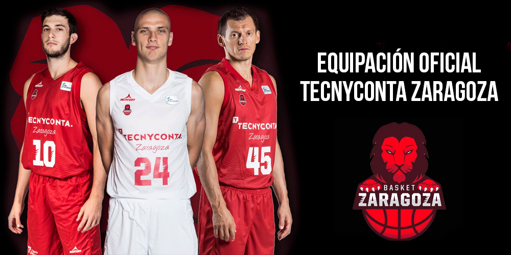 Equipación Tecnyconta Zaragoza 2017/2018 1