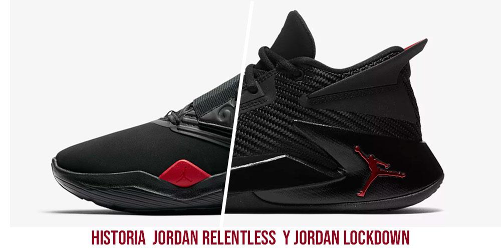 La historia detrás de las Jordan Relentless y Jordan Lockdown 1