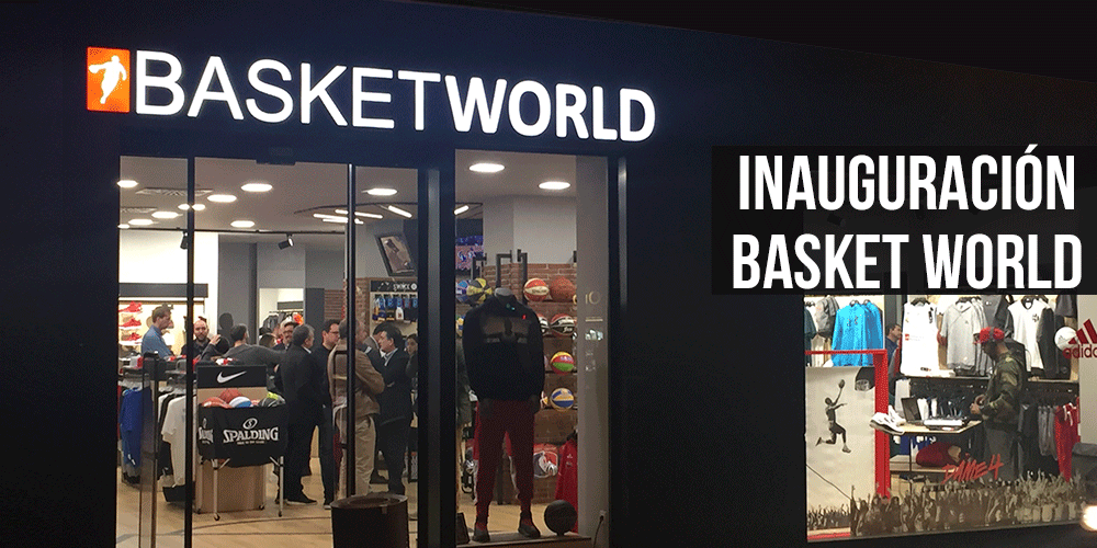 Inauguración Basket World 1