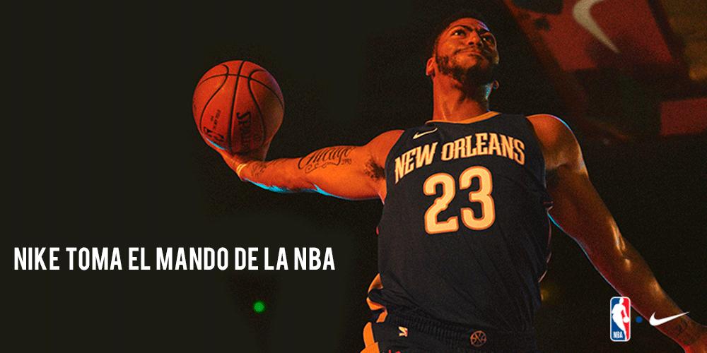 Nike toma el mando en el mundo NBA 1